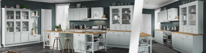 Новая модель кухни в стиле неоклассика