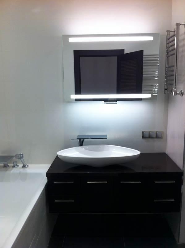 Реализованный проект ванной комнаты Nika