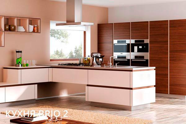 Итальянская кухня Brio 2 в стиле классика