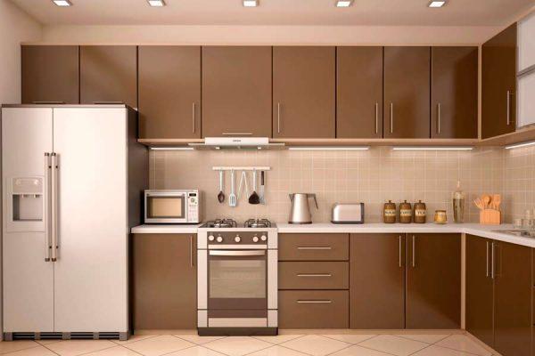 Классическая компоновка кухонного гарнитура