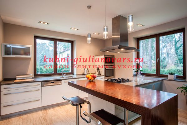 Стильный минимализм в интерьере кухни
