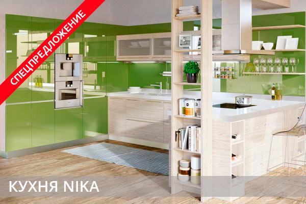 Спецпредложение кухни Nika
