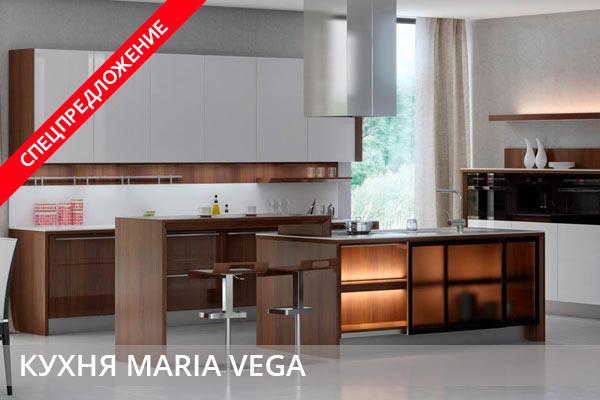 Спецпредложение кухни MARIA VEGA