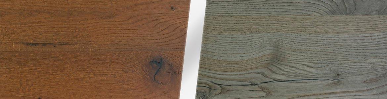 Новые цвета шпона — состаренный дуб