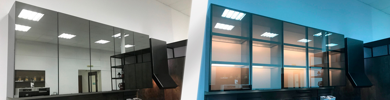 Новая витрина для кухонь