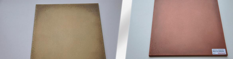 новая отделка - металлизированное покрытие фасадов для кухни и гостиной