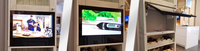Телевизор для кухни AVEL AVS240k с диагональю 60 см