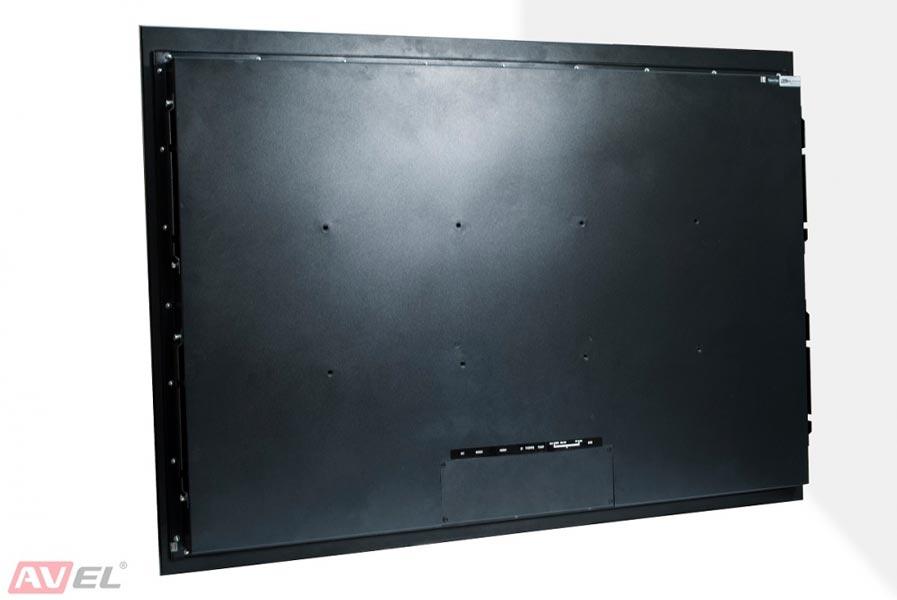Влагозащищенный встраиваемый телевизор AVS430SM (белая рамка)