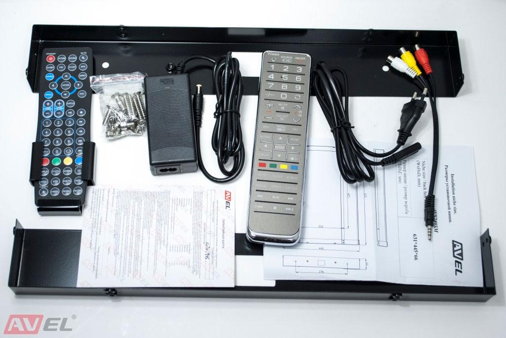 AVS240SM (белая рамка)